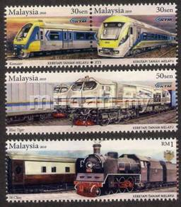 Mint Stamps 125th KTM Malaysia 2010