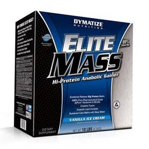 Dymatize elite mass gainer protein muscle