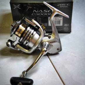 13' SHIMANO NASCI 500 - 5000 Fishing Reel ( NEW )
