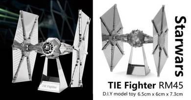 Starwars TIE Fighter Model DIY Toy