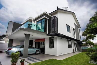 (HOC Extend) Dengkil New 2sty Gated Rumah 22x70 FREEHOLD Kota Warisan