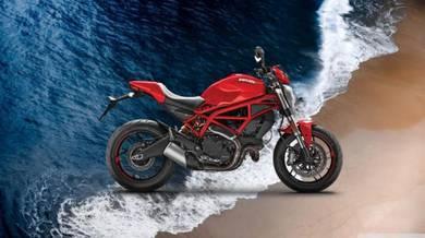 Ducati monster 797 promosi HEBAT
