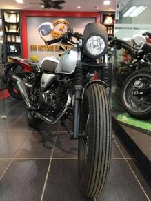 New Brixton Cafe Racer BX150R Fi - 90% Credit