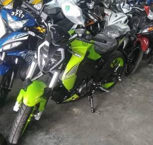 Benelli 150S 150- SE Green Low Dp OTR-Year End