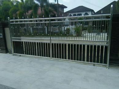 Automatik gate untuk pagar sorong