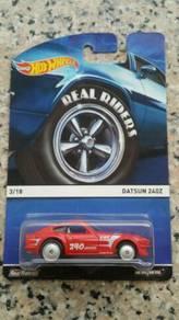 HotWheels Heritage Real Riders Datsun 240z