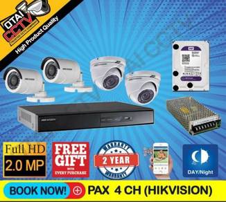 CCTV Full HD Package with Installation Door Access