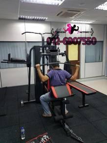 5 STATION gym multipurpose pemasangan ada NEW
