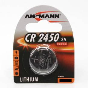 ANSMANN CR2450 Lithium 3.0V Battery