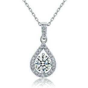 1 Carat Round Cut Created Diamond S925
