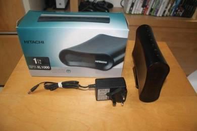 Hitachi 1TB external hard drive