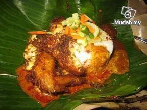 Nasi Kukus Ayam Goreng