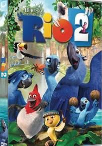 DVD Movie RIO 2