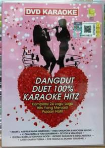 DVD KARAOKE Dangdut Duet 100% Karaoke Hitz