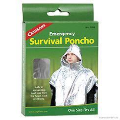 17RAG COGHLANS Emergency Survival Poncho
