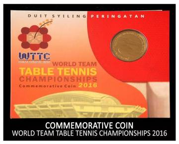 Coin Card - World Table Tennis Championship 2016