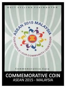 Coin Card - Asean 2015 (Malaysia)