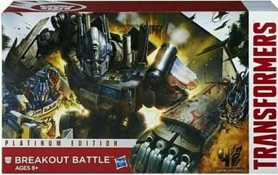 Transformer Platinum Edition Breakout Battle Toy