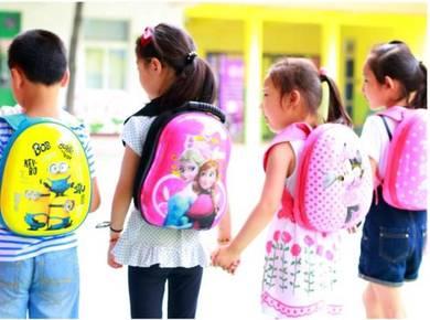 Hard Case Shell School / Backpack HELLO KITTY
