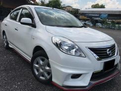 Nissan almera nismo bodykit with spoiler paint