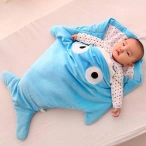 Baby shark sleeping bag / beg tidur bayi 03