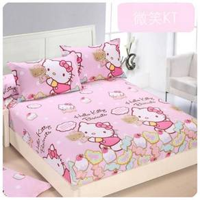 Cute Cartoon Bedsheet Set (01) 18634-01