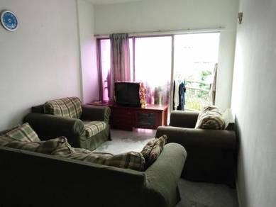 TAMAN ABADI INDAH Apartment, Taman Desa, KL- 830sqft 3R2B