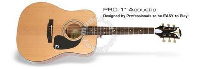 Acoustic Guitar Epiphone Pro One Pro1 Pro-1