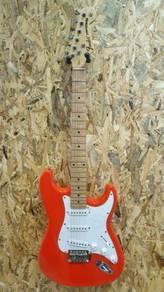 Fender Stratocaster Electric guitar orange 2018New