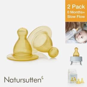 Natursutten Natural Rubber Nipples, Slow Flow