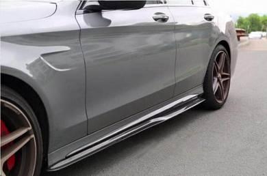 Mercedes W205 carbon fiber side skirt W205 PSM lip