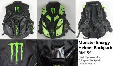 Monster Energy Helmet Backpack
