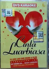 DVD KARAOKE Cinta Luar Biasa 16 Lagu Drama Filem