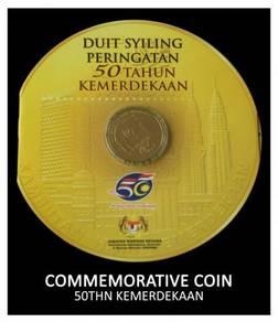 Coin Card - 50 thn Merdeka