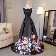 Floral prom dinner wedding bridal dress RBP0197