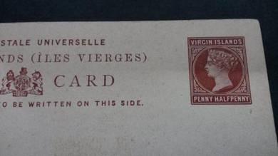 Antik Postcard VIRGoN ISLANDS Victoria PC 2029
