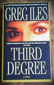 Third Degree by Greg Iles Paperback Novel