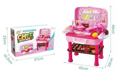 Kitchen Playset (Suitcase Chef)
