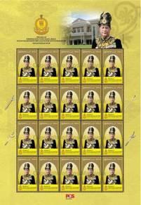 Mint Stamp Sheet Installation Sultan Kedah 29 2018