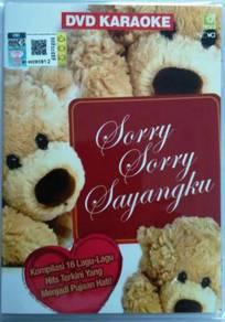 DVD KARAOKE Sorry Sorry Sayangku 16 Lagu Hits