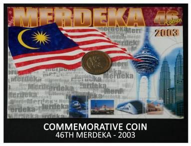 Coin Card - 46 Tahun Merdeka