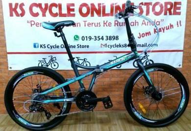 Folding Bike 24inch GARION 24Speed