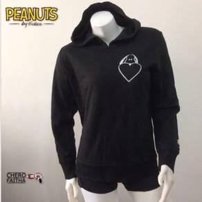 Peanuts by Schulz original hoodie baju sweater