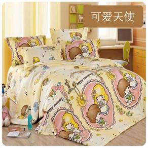 Cute Cartoon Bedsheet Set (12) 18634-12