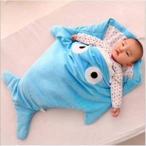 Baby shark sleeping bag / beg tidur bayi 06