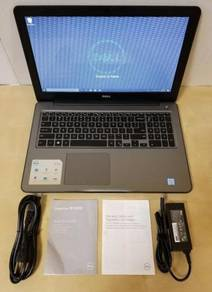 Dell Inspiron 15-i5567, 15.6 HD Laptop intel i7-75