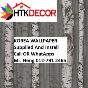 Wall paper with New Collection 46A17BT
