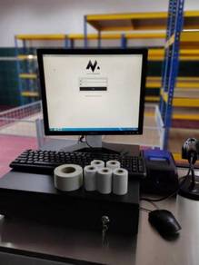 Mesin Cashier POS System Cash Register Borong 085