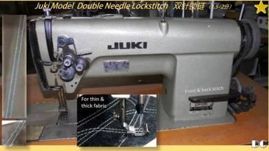Double Needle Sewing Machine Brand Juki