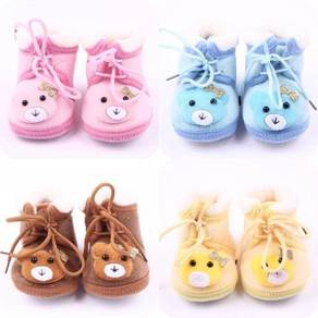 Baby velvet/fleece Toodler Prewalker shoes
